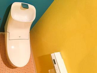 トイレリフォーム 打ち合せを重ね、イメージ通りに仕上がったこだわりのトイレ