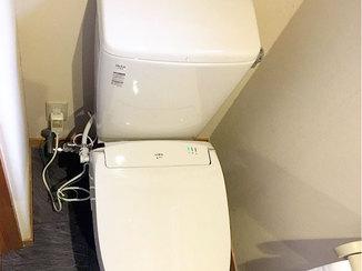 トイレリフォーム 予算を抑えながら、施主様宅に合わせ和テイストに仕上げたトイレ