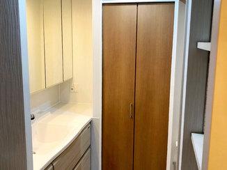 マンションリフォーム こだわりの洗面室が光るマンションリフォーム