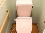トイレリフォーム最新式のお掃除ラクラクトイレ&レンジフード取替え
