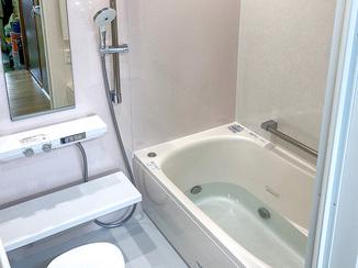 バスルームリフォーム 肩湯&ジェットバス付き!癒しとくつろぎのお風呂