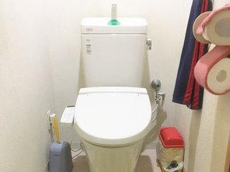 トイレリフォーム 予算内でスピード施工で仕上がったトイレ