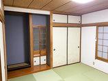 内装リフォーム以前のイメージはそのままに、明るくキレイになった和室