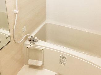 バスルームリフォーム 住みながらのリフォームを実現した、マンションの浴室