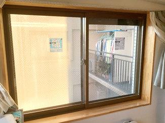 内装リフォーム 太陽熱の侵入を防ぎ、暑い夏も快適にすごせる内窓