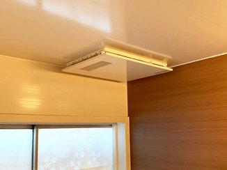 バスルームリフォーム 浴室の寒さを解消する浴室換気乾燥暖房機