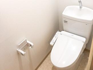 トイレリフォーム 段差をなくし、ひろびろ快適に使えるトイレ