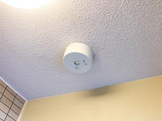 小工事 マンションの共有部を明るく照らす非常灯