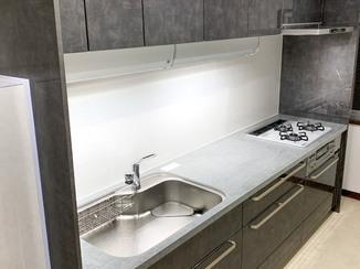 キッチンリフォーム 水漏れを解消し、使いやすい最新設備をそろえた水廻り