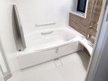 バスルームリフォーム使い勝手と清掃性の良い水廻りと掃除のしやすいレンジフード